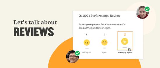 let's talk about reviews