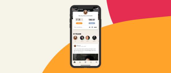 Hibob mobile app