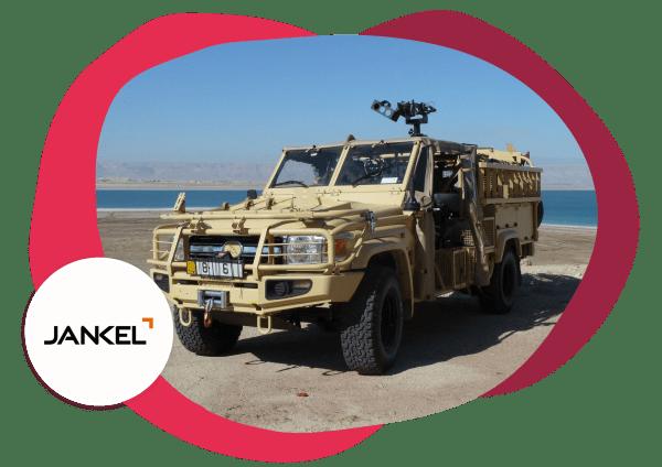 Jankel armored vehicles