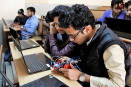 Robotics with IoT integration Smart Bot@IIT ISM