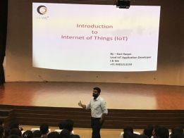 Introduction to Internet Of Things @KIIT Bhubhaneshwar