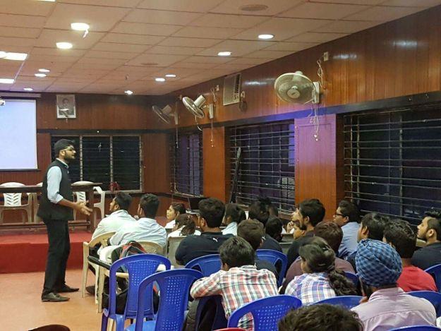 Entrepreneurship Development workshop@MSIT