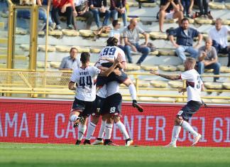 Genoa Esultanza Squadra @ Getty Images