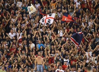 Tifosi Cagliari @ Getty Images