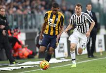 Hellas Verona Souprayen - Juventus Lichtsteiner @ Getty Images