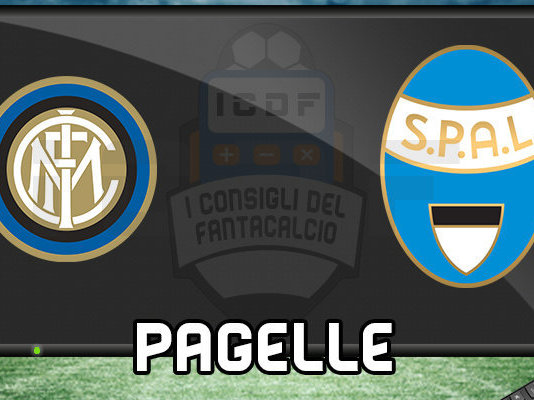 Inter SPAL Pagelle @ ICDF