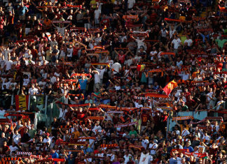 Tifosi Roma @ Getty Images