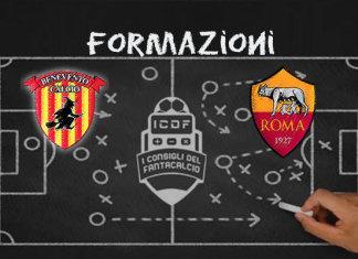Benevento Roma Formazioni Ufficiali