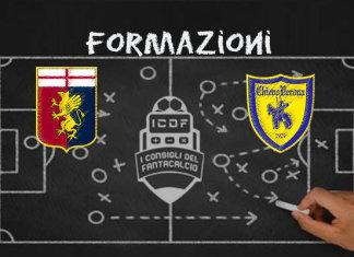 Genoa Chievo Verona Formazioni Ufficiali
