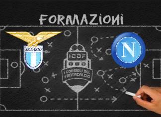 Lazio Napoli Formazioni Ufficiali