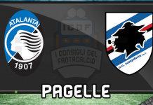 Atalanta Sampdoria Pagelle @ ICDF