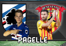 Sampdoria Benevento Pagelle 2017 @ ICDF