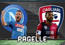 Napoli Cagliari Pagelle