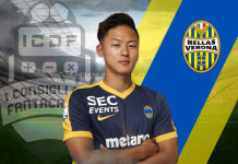 Lee Seung-woo Hellas Verona Nuovi Arrivi Fantacalcio