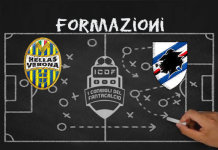 Verona Sampdoria Formazioni Ufficiali