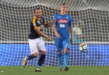 Pazzini Verona - Chiriches Napoli @ Getty Images