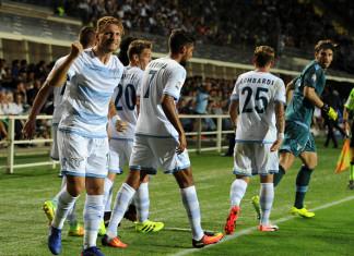Squadra Esultanza Lazio @ Getty Images
