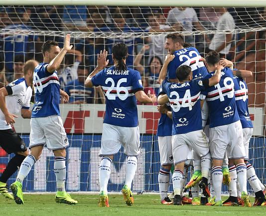 esultanza Sampdoria @Getty Images