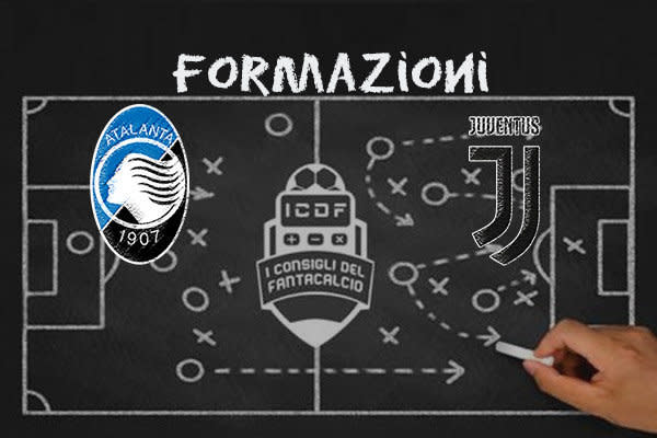 Atalanta Juventus Formazioni Uffiicali