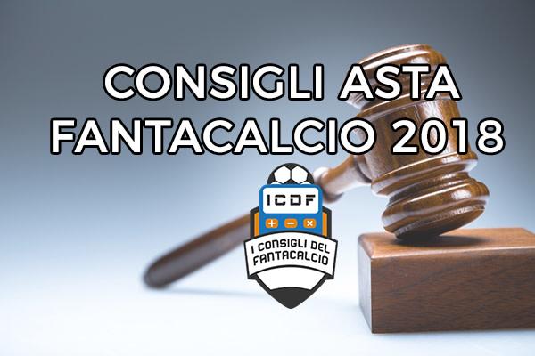 Consigli Asta Fantacalcio 2018