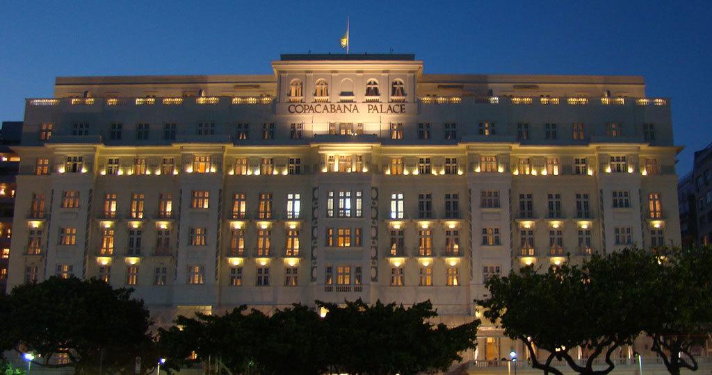 Copacabana Palace Hotel Rio De Janeiro Brazil