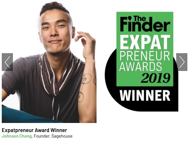 Expatpreneur Awards 2019: How Johnson Chong Came To Offer UNIQUE Personal Coaching In Singapore
