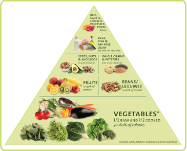 food pyramid, dr. furhman