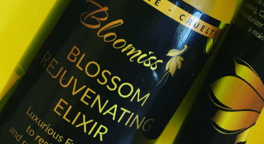 Bloomiss Elixir that has the 7 top oils for your skin in one bottle