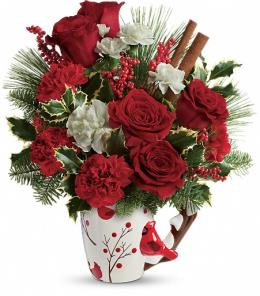 Winter flowers, Flower arrangement, Brant Florist