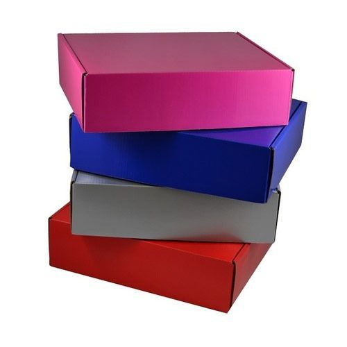 Why people prefer the colored cardboard boxes for the