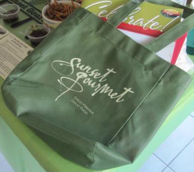 bag, sunset gourmet, prepared food, direct sales