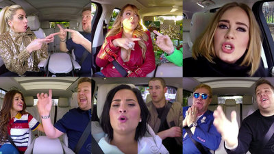 Carpool Karoke: All I want for Christmas is You