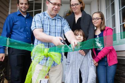 Habitat for Humanity Waterloo Region Family Build Volunteer Home