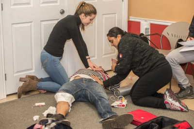 MFR CPR First Aid Training Volunteer Wednesday St. John Ambulance