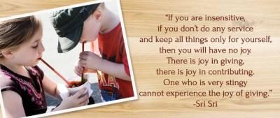 Joy of Giving, Evolove Healing, Pamela Robinson