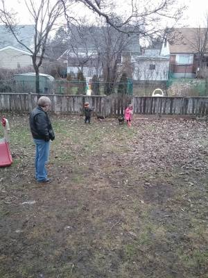 Faery home childcare, backyard, kitchener on, kids at play,