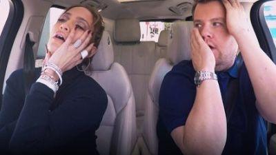 Carpool Karoke: James Corden and Jennifer Lopez and Leonardo Dicaprio