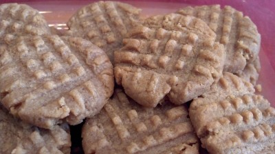 peanut, butter, cookie, recipe, yummy,