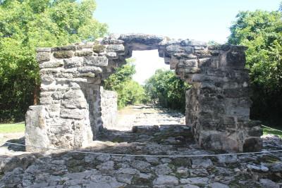 Cozumel, mayan ruins