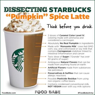 Starbucks, Pumpkin Spice Latte