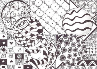 doodling is deep thinking in disguise