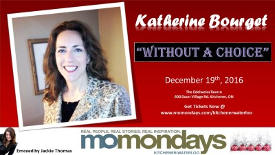MoMondays Kitchener Waterloo - December 19, 2016
