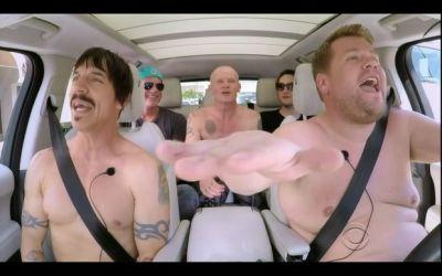 Carpool Karoke: Red Hot Chilli Peppers & James Corden