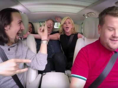 Carpool Karoke: Broadway Legends & James Corden