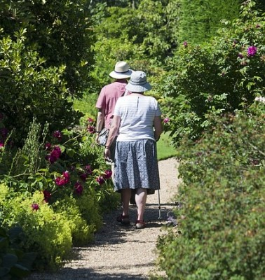 movement walking exercise gardening healthy choices