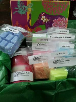 Sydney's Charmed Soaps, A Sacred Journey, Natural Soaps and Candles, Waterloo Region