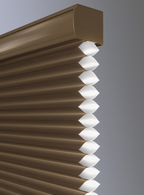 honeycomb shade Lutron home control
