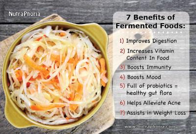probiotics, digestion, fermented food