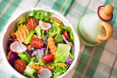healthy meals fresh vegetables fruit balanced low salt