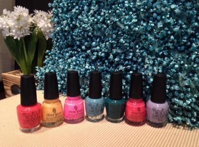 Nails, polish, pretty colours